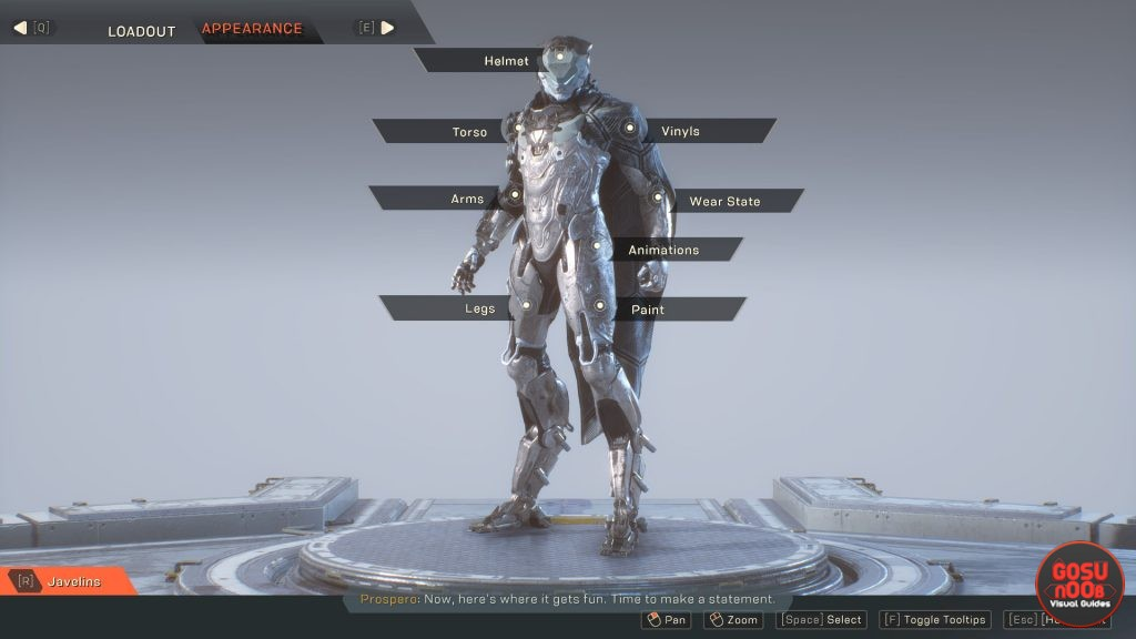 Anthem How to Get Appearance Unlocks For Javelin - Faction