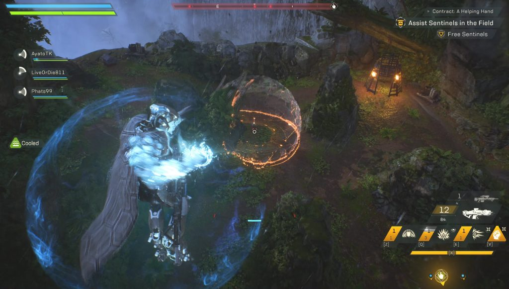 anthem how to perform multi-kills