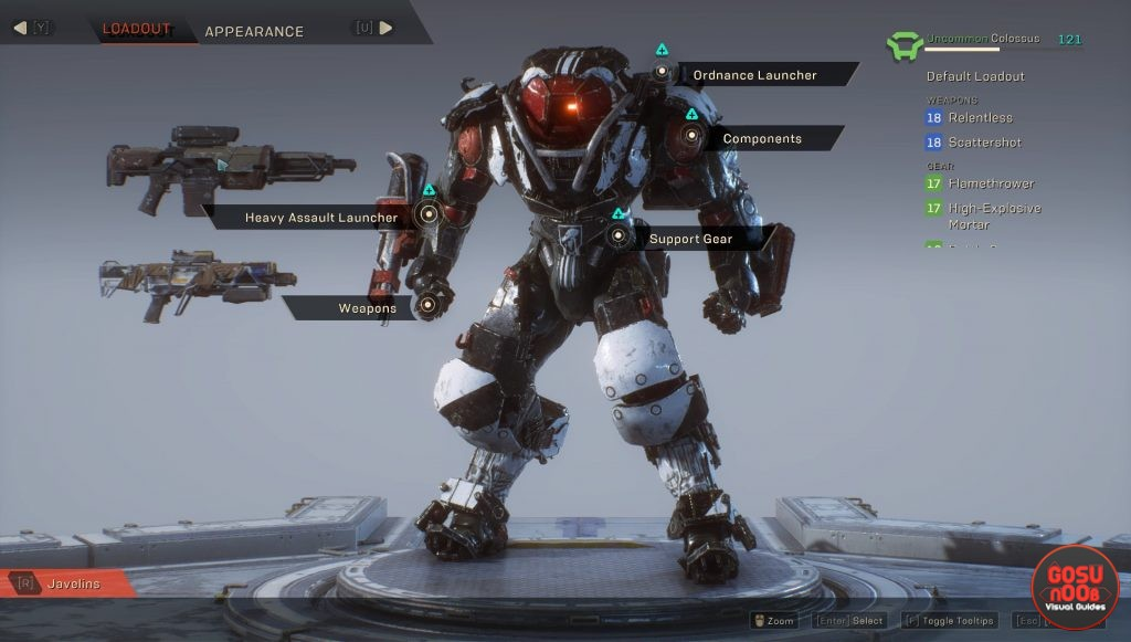 anthem how to play colossus tank