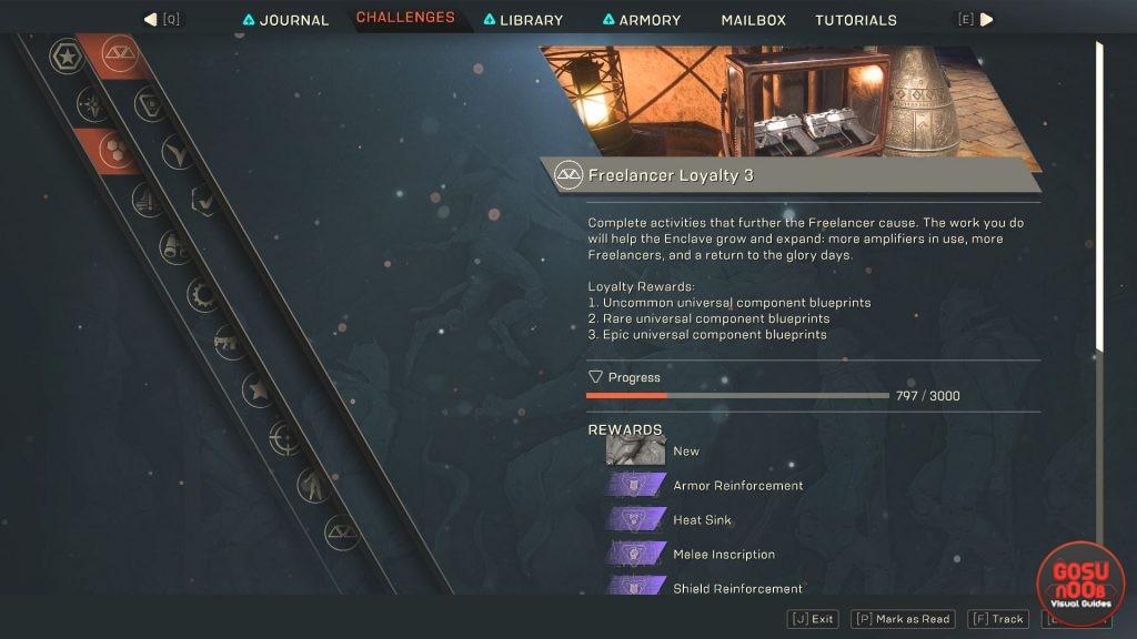 anthem how to unlock epic weapon gear blueprints