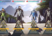 anthem play style medals feats soldier executioner sage artillery