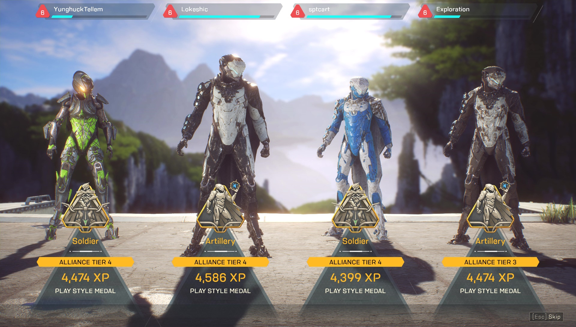 Image result for anthem launch feats