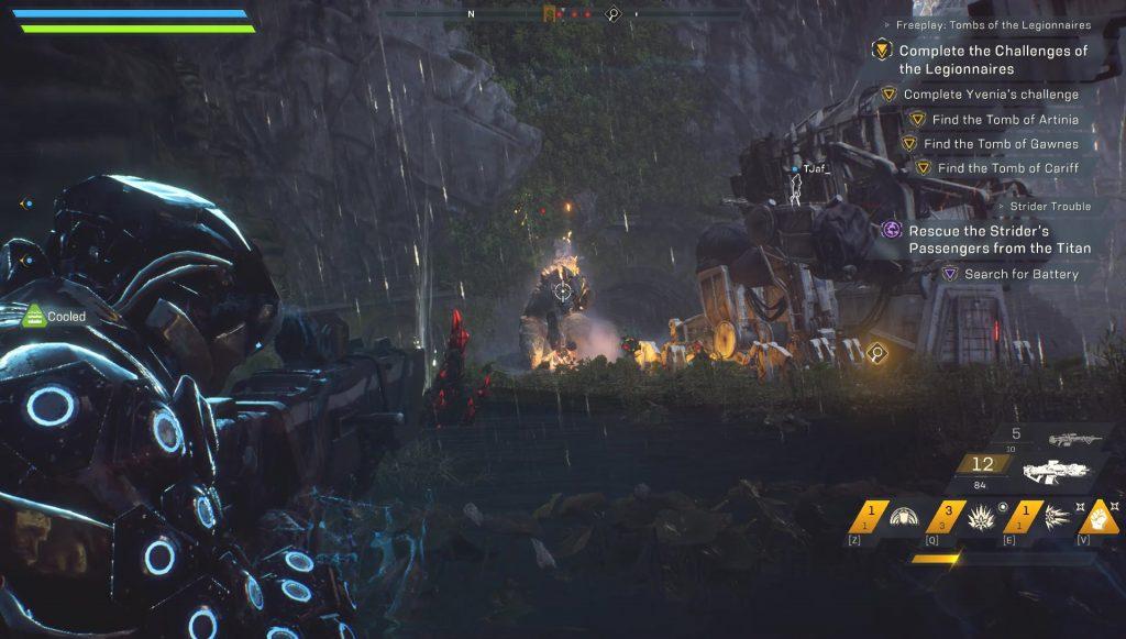 anthem titan locations
