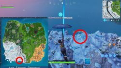snow giant face where to find fortnite season 8 weekly challenge