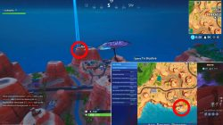 where to find desert giant head fortnite weekly challenge