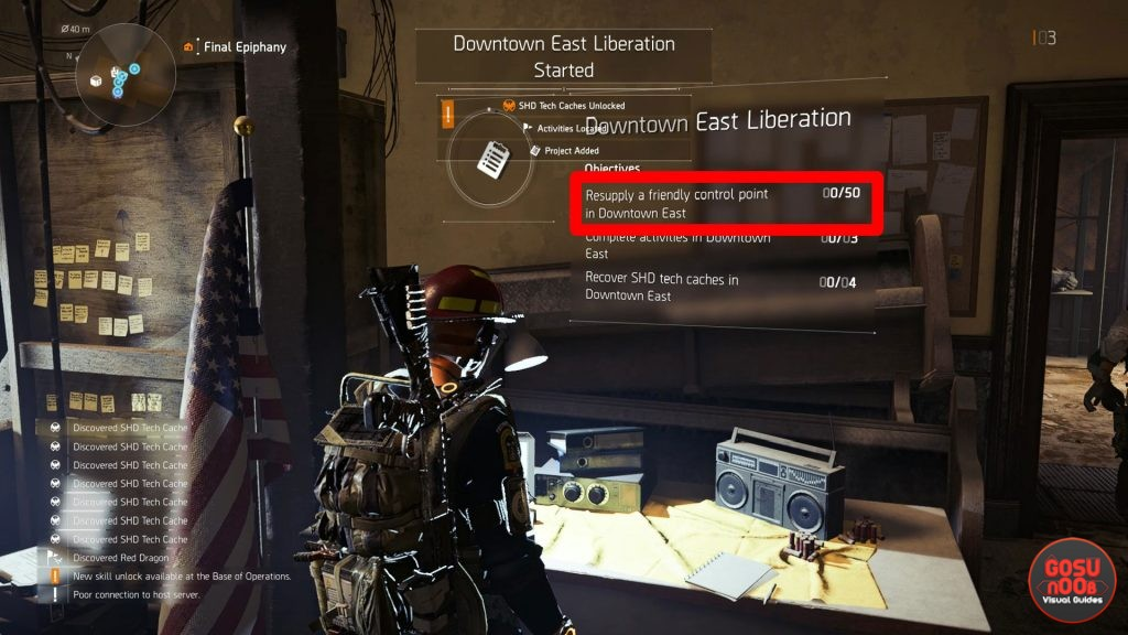 Division 2 Resupply a Friendly Control Point - How to Complete