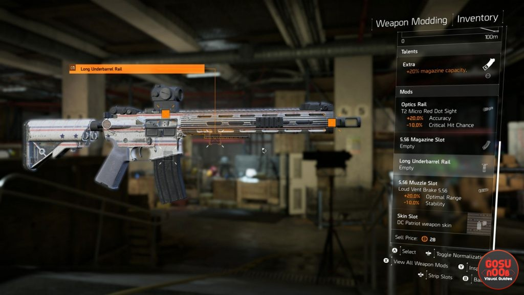 How to Apply / Change Weapon Skins in Division 2