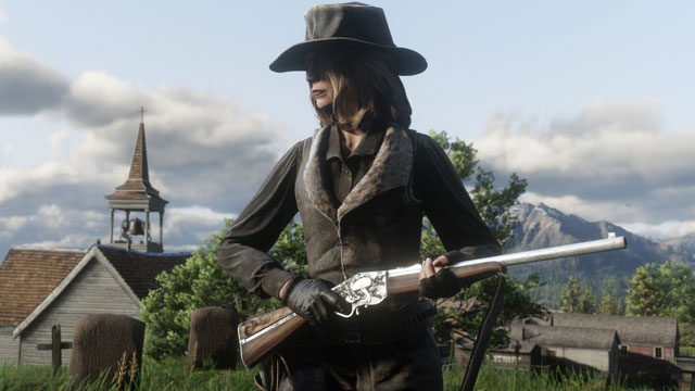 Red Dead Online Beta Update Includes Repeater Rifle New Event