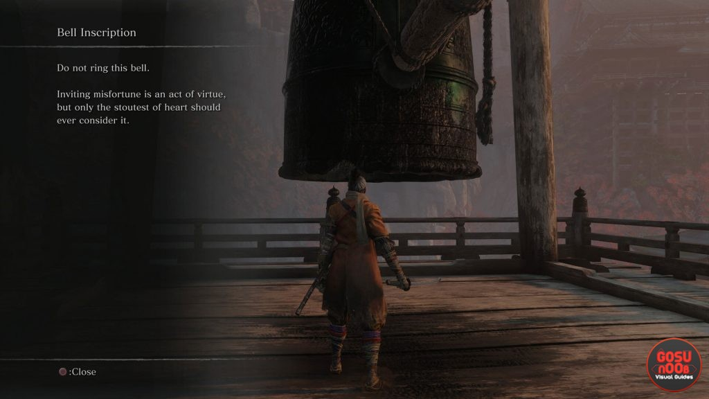 Sekiro Demon Bell - Should I Ring the Bell - What Does it Do