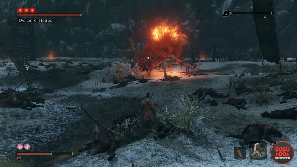 Sekiro Demon of Hatred Location - How to Spawn Optional Boss