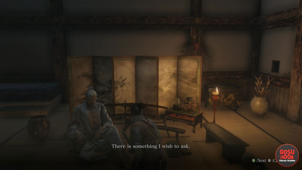 Sekiro Lord Isshin Location in Ashina Castle - Where to Find
