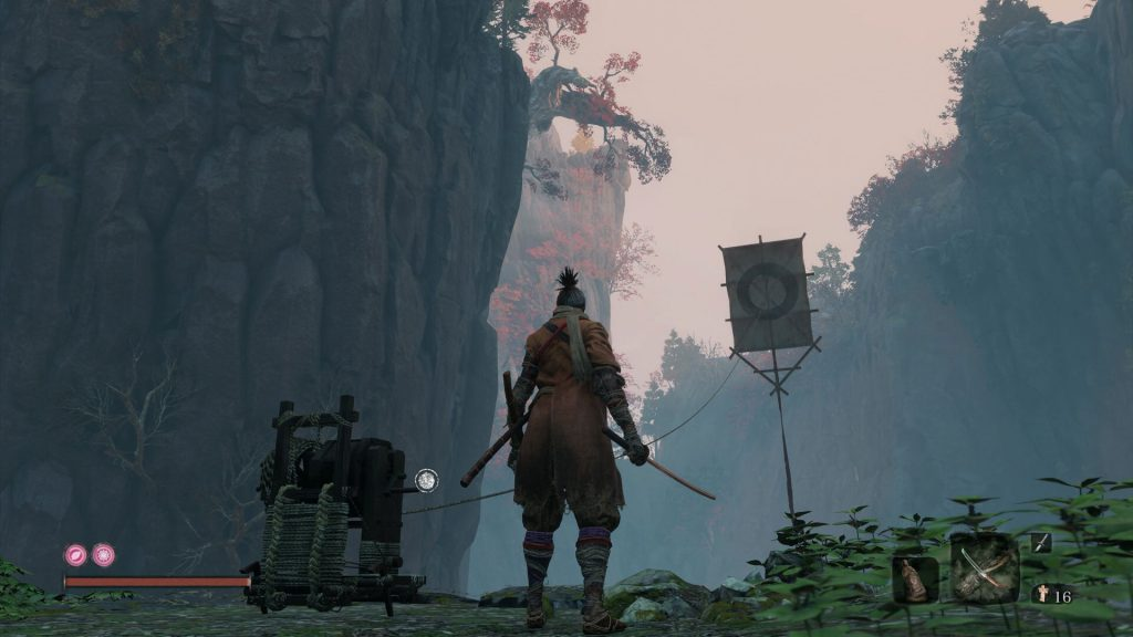 Sekiro What to Do With Kite in The Senpou Temple