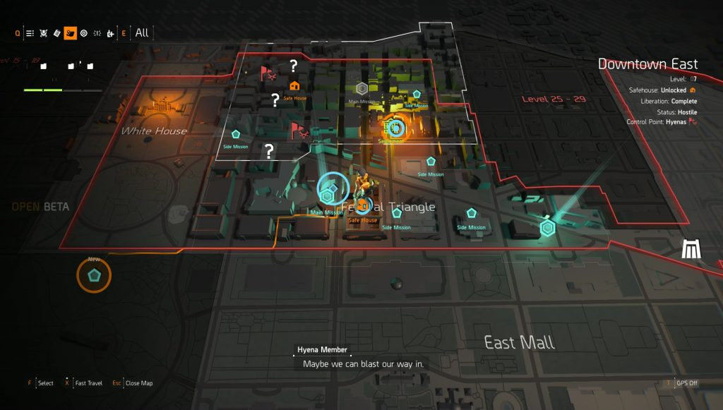 division 2 how to level up fast farm exp