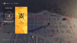 division 2 how to start conflict