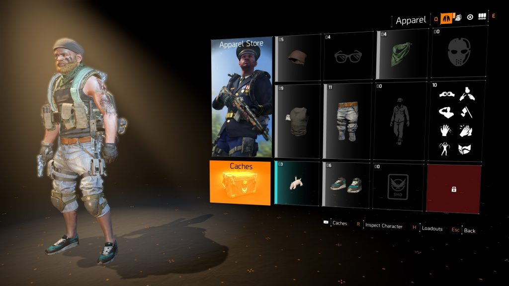 division 2 purchased outfits can't be equipped apparel store bug