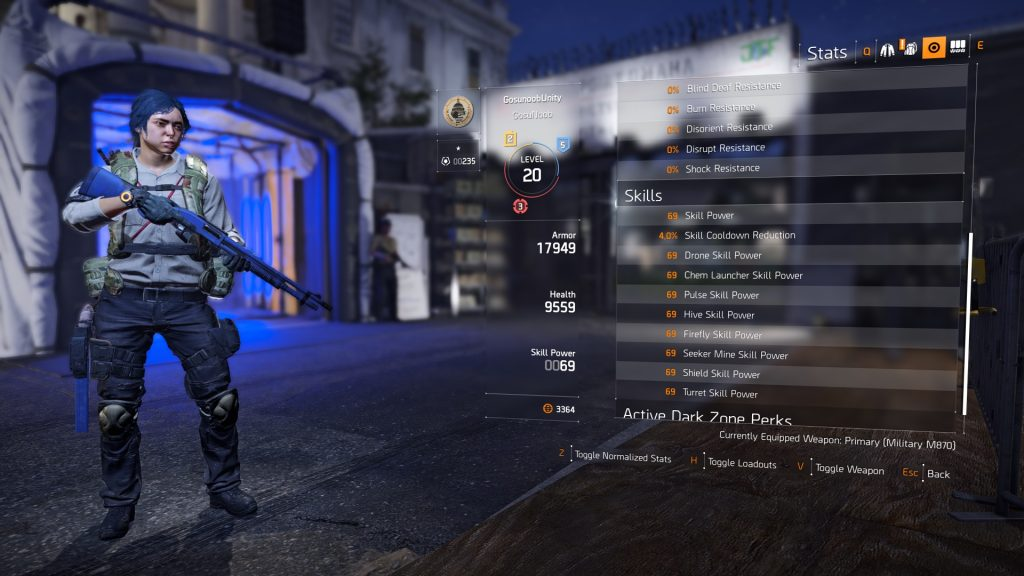 division 2 skill power how to increase skillpower