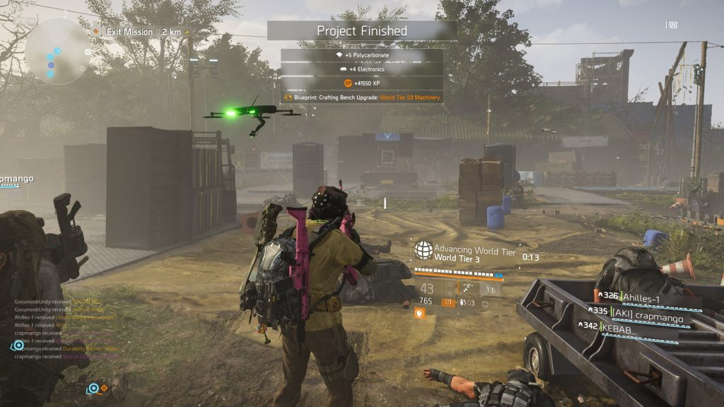 Division 2 World Tier 5 Unlock & Tidal Basin