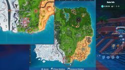fortnite br farthest south point