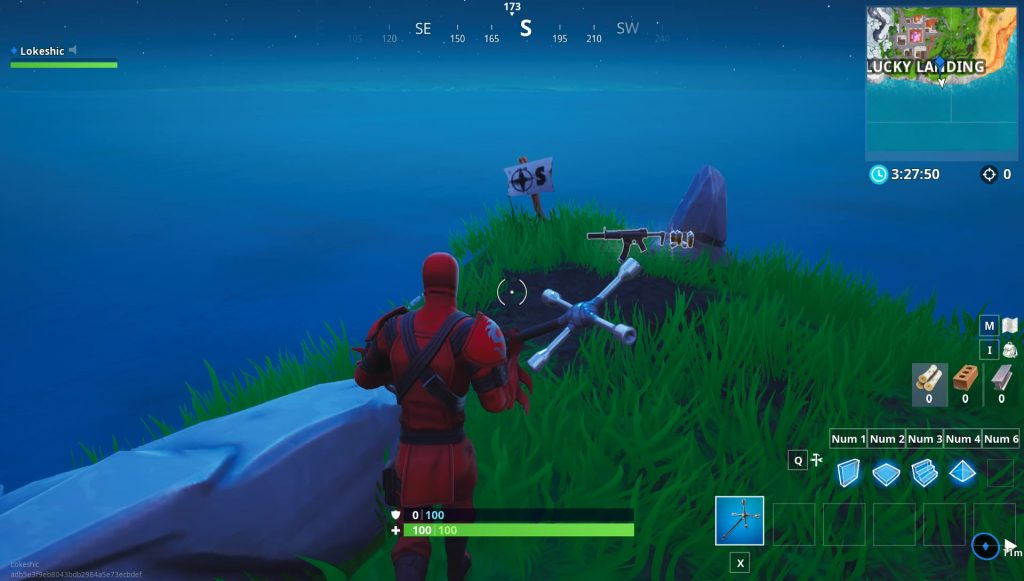 Fortnite Furthest North South East West Point Locations Challenge