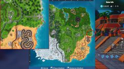 fortnite br visit furthest north south east west points on the island