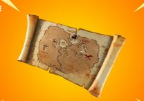 fortnite treasure map