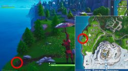 fortnite weekly challenge where to find furthest west point