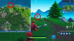 furthest north point on map location fortnite br weekly challenge