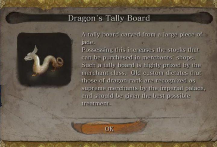 sekiro buy Divine Confetti Dragons Tally Board