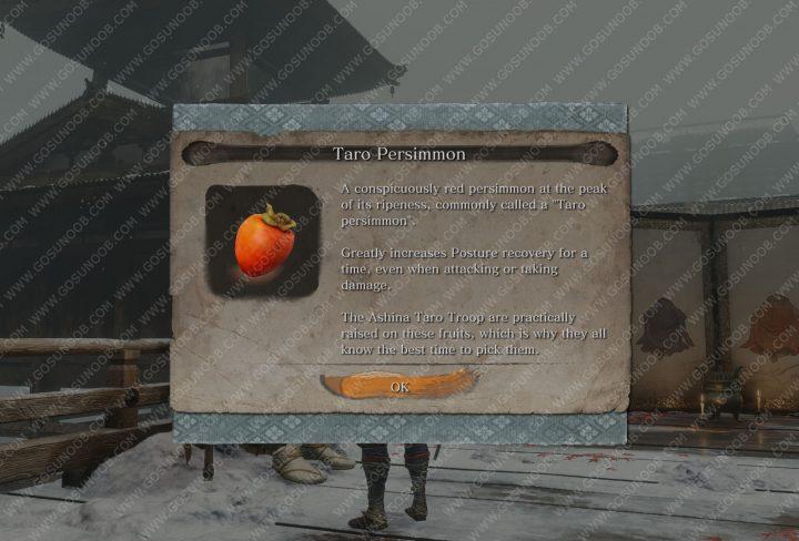 sekiro taro persimmon