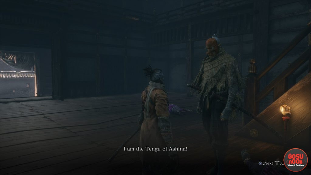 sekiro tengu of ashina rat hunting quest