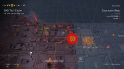 where to find missing shd tech cache downtown west division 2