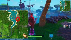 where to find pirate cannons fortnite weekly challenge