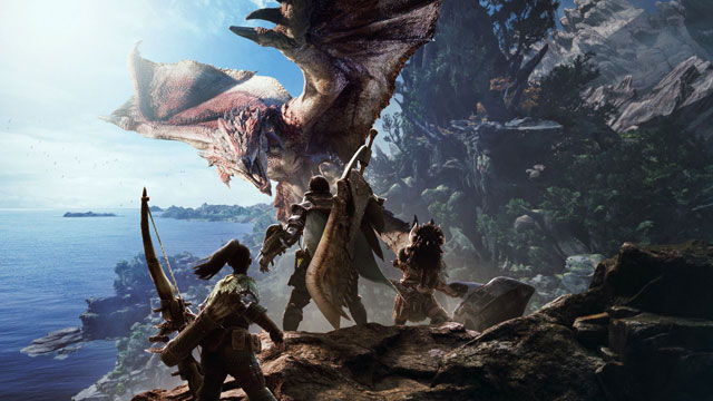 Monster Hunter World Coming to Xbox Game Pass
