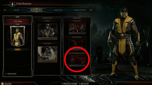 Mortal Kombat 11 How to Use Taunts
