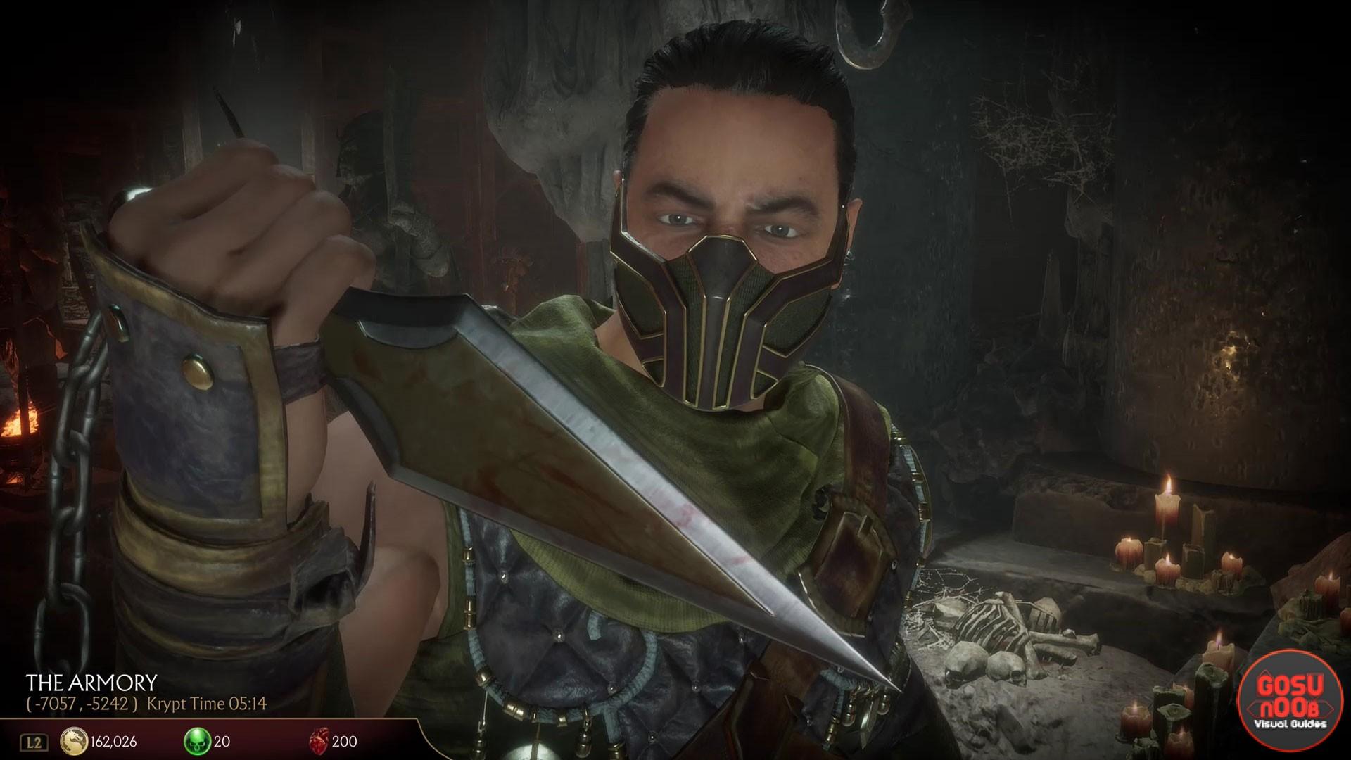 Mortal Kombat 11 Scorpion S Spear Location In Krypt How To Open Gate