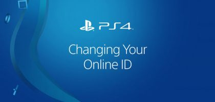 PlayStation Network Online ID Change Now Available