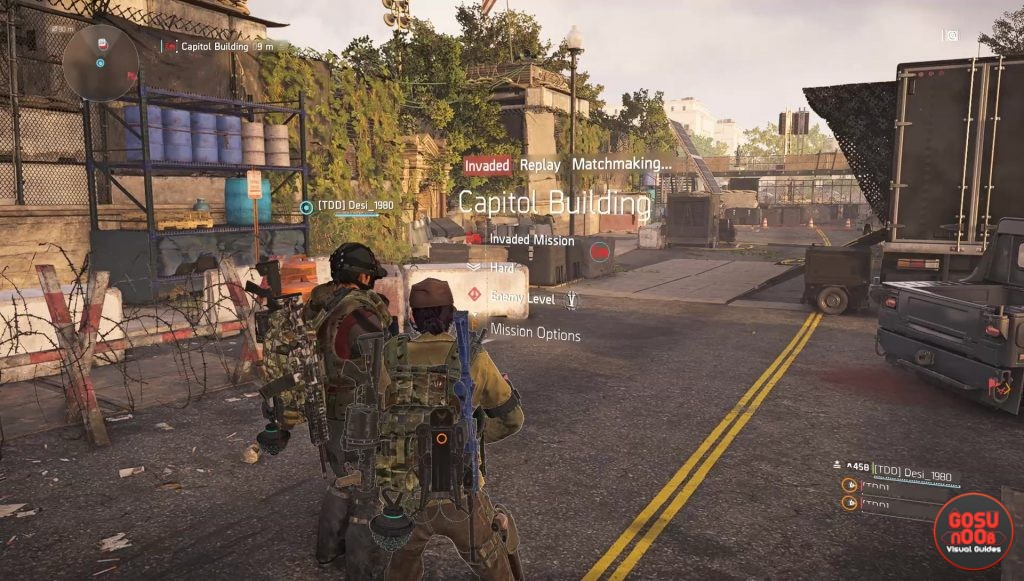 Division 2 How to Replay Invaded Stronghold Mission