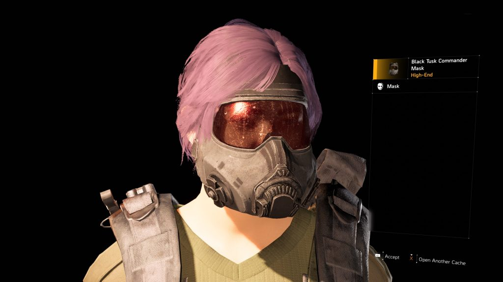 division 2 new masks how to get