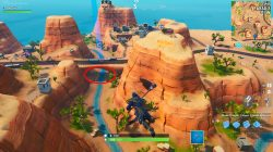 fortnite br jigsaw piece bridge desert