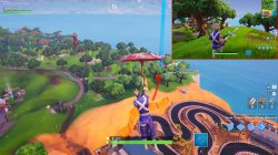 fortnite br search knife points treasure map