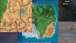 fortnite br search treasure map signpost paradise palms