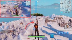 fortnite br three ice sculptures location