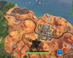 fortnite br weekly challenge paradise palms treasure map