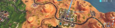 fortnite br weekly challenge paradise palms treasure map
