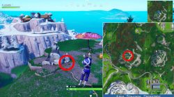 highest elevations on island locations fortnite free challenge where to find