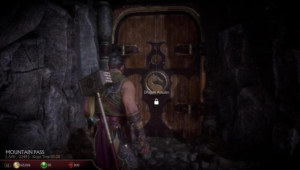 mk11 dragon amulet location