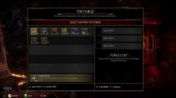 mk11 forge recipes crafting