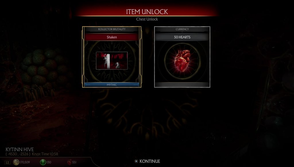 mortal kombat 11 hearts how to get