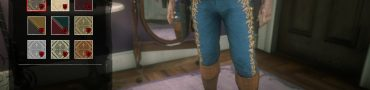 red dead online concho pants