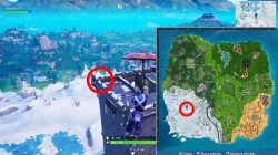 weekly challenge fortnite where to find five highest elevations